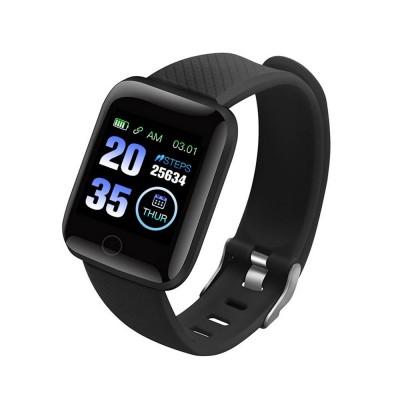 Jam Tangan Anti Nyamuk Smartwatch Smartband Bluetooth Hitam