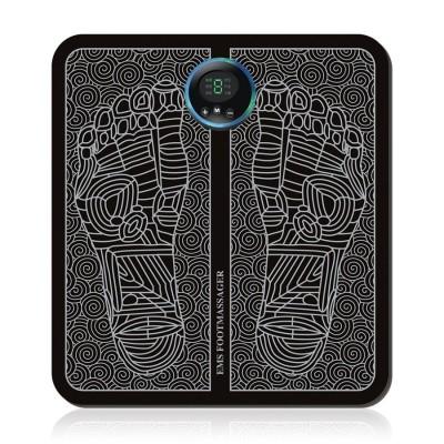 EMS Foot Massager Pad Alat Pijat Kaki Akupuntur Kaki Elektrik Recharge