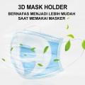 Penyangga Masker Mask Bracket Support 3D Anti Sesak Anti Pengap